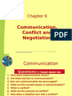 SU 3240 Chapter 6-Communication & Conflict