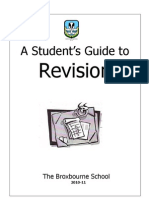 Students Guide to Revision 20102011