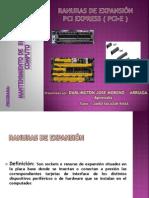 Ranuras PCIe