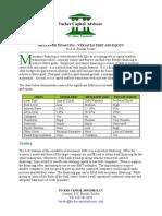 50668132 Mezzanine Financing Versatile Debt and Equity
