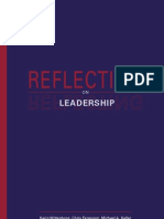 Reflecting on Leadership