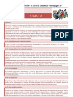 Statuto COMITATO GENITORI