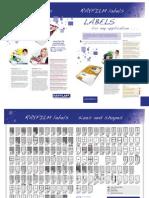 Leaflet Labels SRA3