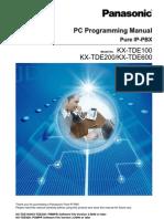 Tde200 Pc Programming Manual v3