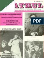 Revista Teatrul, nr. 4, anul XIX, aprilie 1974