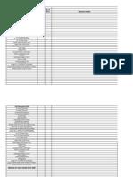 Job Layout Sheets