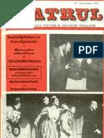 Revista Teatrul, nr. 10, anul XX, octombrie 1975