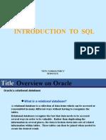 Oracle Training Manual