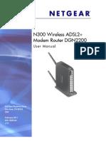 Netgear Dgn2200 Modem Router User Manual