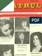 Revista Teatrul, nr. 8, anul XXI, august 1976