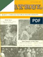 Revista Teatrul, nr. 10, anul XXI, octombrie 1976