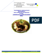 Procedimiento de Verificacion de Equipos en Sucursal Ante Averias en Los Enlaces de Adsl - Gcaba - 06-11-06