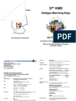 Info 37th KMD Klettgau Marching Days