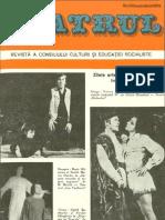 Revista Teatrul, nr. 11, anul XXI, noiembrie 1976