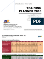 Sts Training Planner 2010