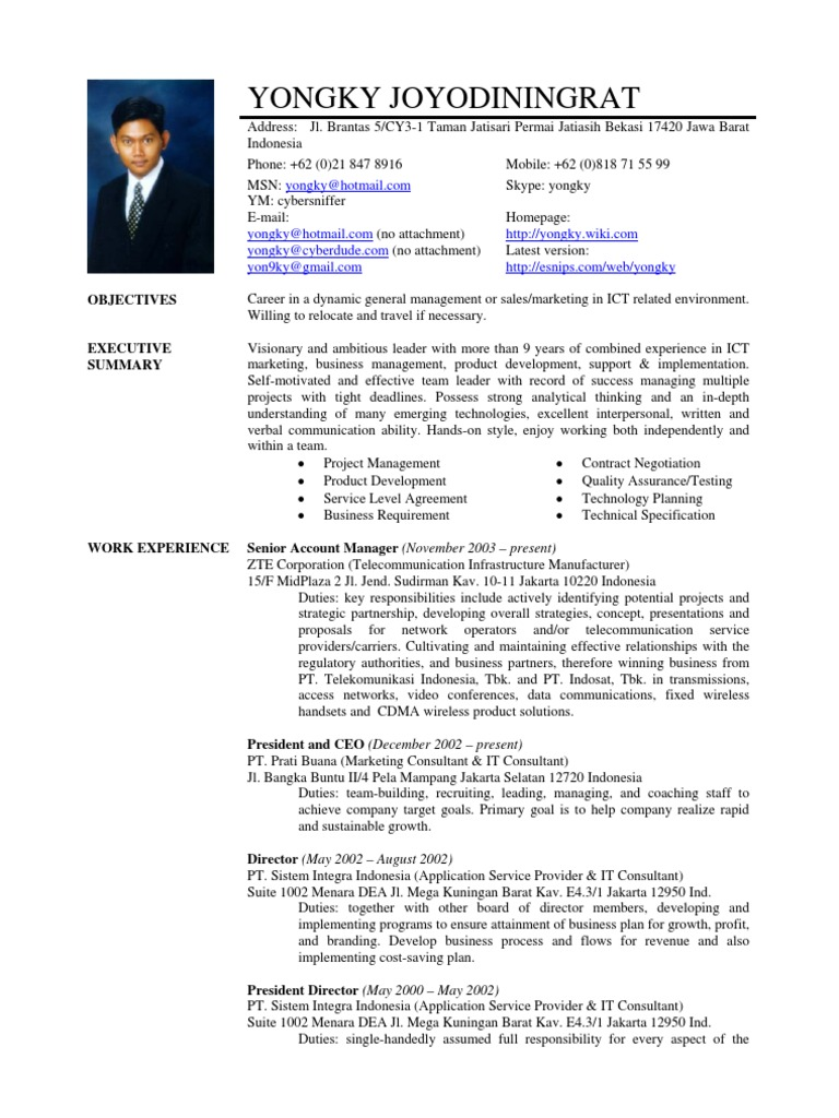 Comprehensive Cv | Ibm Notes | Microsoft