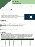 Choix d'Un Ecran de Projection PDF