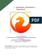 Firebird Super Server Classic Server Super Classic