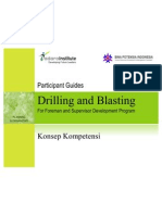 Drilling and Blasting
