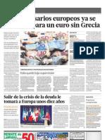 Los Empresarios Europeos Ya Se Preparan Para Un Euro Sin Grecia