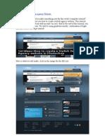Create a Stylish Design Agency Website