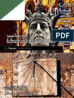 La prosa en la Edad Media. Alfonso X. Imágenes para presentar