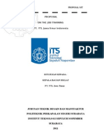 Proposal OJT PT.ytl Judul
