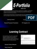 E-portfolio Dyoul - Final - Open This