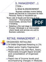 Retail Importance
