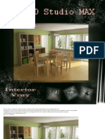 Make an Interior Scene Using 3dsmax 6 and Rendering With Vray