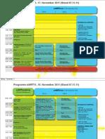 Das stART11 Programm (Stand 07.11.2011)