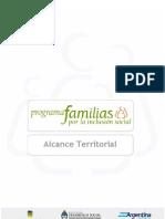 Alcance Territorial Programa Familia
