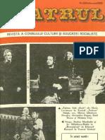 Revista Teatrul, nr. 2, anul XXII, februarie 1977