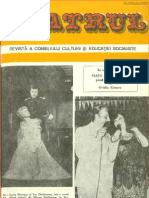 Revista Teatrul, nr. 7 anul XXII, iulie 1977