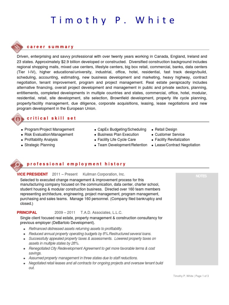 Executive resume service nyc