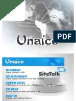 New Unaico Business Presentation Version 1.2