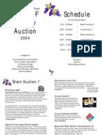 Section Final Auction Program