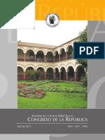 Inform Nanco de La Republca 2011