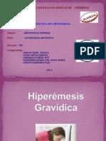 EXPOSICIÓN HIPEREMESIS GRAVÍDICA