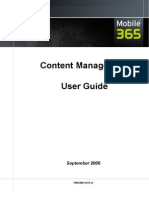 Content Manager User Guide