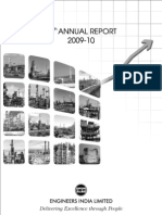 Engineers India Annual Report 2009-10