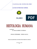 Sílabo histología-2011 I-II