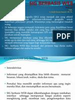 Presentasi Bahan Ajar SIG Berbasis WEB 01