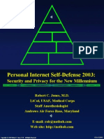 Personal Internet Self-Defense 2004