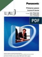 Manual Primeros Pasos Centrales Hibridas IP Panasonic KX-TDA100 KX-TDA200