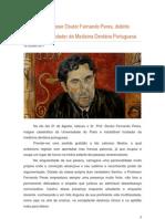 Elogio Ao Professor Doutor Fernando Peres