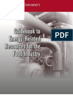 Energy Best Practices Food Industry Guidebook