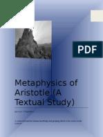 Metaphysics of Aristotle