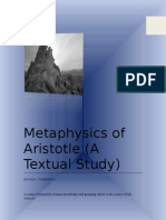 Metaphysics of Aristotle