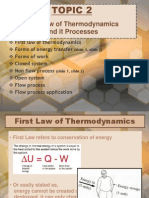 Thermodynamics - Chapter 2
